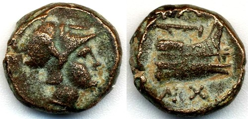 Ancient Coins - Kings of Macedon AE11, BOLD VF+, Circa. 3rd Century B.C.E.