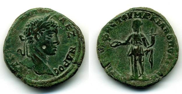 Ancient Coins - Severus Alexander AE 25 Markianapolis, Moesia Inferior, VF+