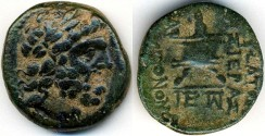 Ancient Coins - Mopsus, Cilicia AE, GVF, Lovely natural patina, 2nd Century B.C.E.