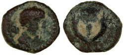 Ancient Coins - Ascalon, Quasi Autonomous RARE! Early Coinage, Good Fine