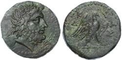 Ancient Coins - Crete, Knossos AE 27, RARE VF+/VF, 2nd - 1st Century B.C.E.