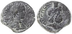Ancient Coins - Eleutheropolis, Caracalla AE, Scarce F/VF, Pedigreed! see notes, 198 - 217 C.E.