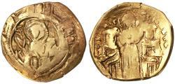 Ancient Coins - Andronicus II Palaeologus & Michael IX AV Hyperpyron,  Fine, 1295 - 1320 C.E.