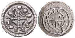 World Coins - Middle Ages, Hungary, Koloman AR Denar, Mint State, 1095 - 1116 C.E.