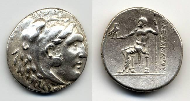 Ancient Coins - Alexander the Great  Tetradrachm, Nice VF