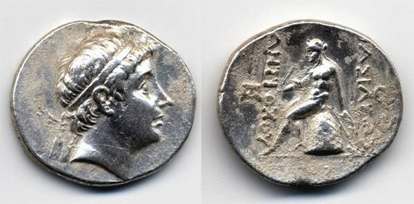 Ancient Coins - Antiochus III Tetradrachm, BOLD Portrait and Sharp, 223-187 B.C.E.