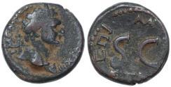 Ancient Coins - Agrippa II AE of Domitian, Good Fine, Pedigreed!, 85/86 C.E.