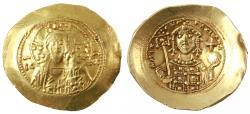Ancient Coins - Michael VII Ducas Histamenon Nomisma, VF/VF+ , 1071 - 1078 C.E.