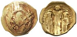 Ancient Coins - Andronicus II Palaeologus & Michael IX EL Hyperpyron, Very Fine, 1282 - 1328 C.E.