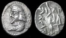 Ancient Coins - Vahshir ( Oxartres ) AR Hemidrachm, Persis, VF+, 50 - 1 B.C.E.