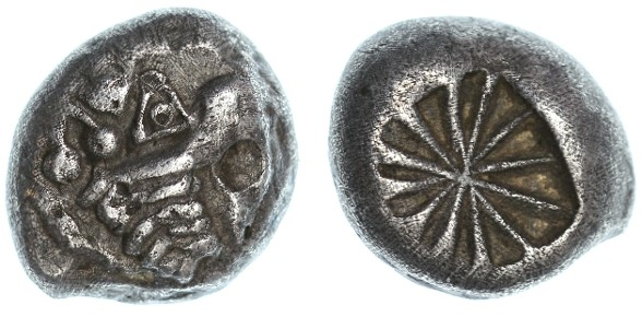 Ancient Coins - Lycia Dynasts AR Stater, Very RARE early type, VF+, 530 - 480 B.C.E.