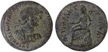 Ancient Coins - Petra, Hadrian AE 28, VF, 117 - 138 C.E.