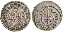 World Coins - Hungary, Salomon AR Denar, RARE Near MINT STATE, 1063 - 1074