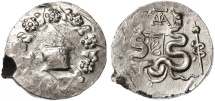 Ancient Coins - Cistophoric AR Tetradrachm, Ionia, Ephesus, EF, SCARCE - see notes, 42 - 39 B.C.E.