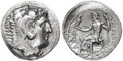 Ancient Coins - Alexander the Great AR Tetradrachm, Choice Extremely Fine, 310 - 275 B.C.E.