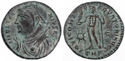 Ancient Coins - Licinius I AE Follis, Choice Extremely Fine, Cyzicus Mint, 317 - 320 C.E.