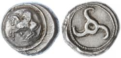 Ancient Coins - Lycian Dynasts AR Stater, CHOICE Near Extremely Fine, 480 - 430 B.C.E.
