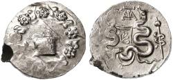 Ancient Coins - Cistophoric AR Tetradrachm, Ionia, Ephesus, EF, SCARCE - see notes, 42 - 39 B.C.E.