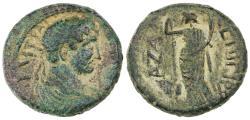 Ancient Coins - Gaza, Hadrian AE, VF/VF+, interesting variety, 132/133 C.E.