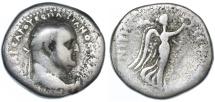 Ancient Coins - Vespasian AR Didrachm, Cappadocia, Caesarea, Scarce Fine, 76/77 C.E.