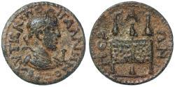 Ancient Coins - Perga, Pamphylia, Gallienus AE 10 Assarion, Choice VF, 253 - 268 C.E.