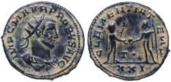 Ancient Coins - Probus AE Follis, Extremely Fine, 276 - 282 C.E.