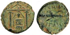 Ancient Coins - Perga, Pamphylia AE 17, RARE VF, 2nd - 1st Century B.C.E.