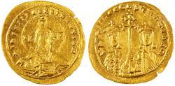 Ancient Coins - Basil II Bulgaroktonos with Constantine VIII AV Gold Histamenon Nomisma, Extremely Fine, 989 - 1001 C.E.