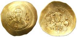 Ancient Coins - Michael VII Ducas  EL Histamenon Nomisma, AVF/Fine, 1071 - 1078 C.E.