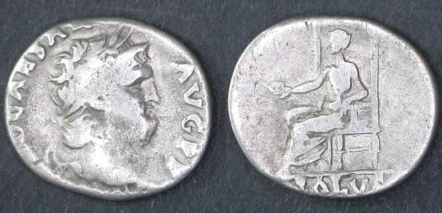 Ancient Coins - Nero AR Denarius, Pleasant Fine, 54 - 68 C.E.