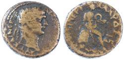 Ancient Coins - Tiberias, Trajan Biblical City AE, Fine, 98/99 C.E.