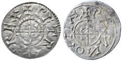 World Coins - Hungary, Peter I AR Denar, RARE, Extremely Fine+, 1038 - 1041 / 1044 - 1046 C.E.