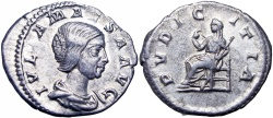 Ancient Coins - Julia Maesa, grandmother of Elagabalus. Augusta, 218-222.