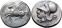 Ancient Coins -  CORINTHIA. Corinth. Ca. 345–307 BC.