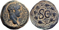Ancient Coins - SYRIA, Seleucis and Pieria. Antioch. Otho. AD 69.  Rarely seen this nice !!