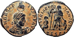 Ancient Coins - Arcadius. AD 383-408.