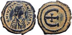 Ancient Coins - Justinian I. 527-565. Æ Pentanummium.