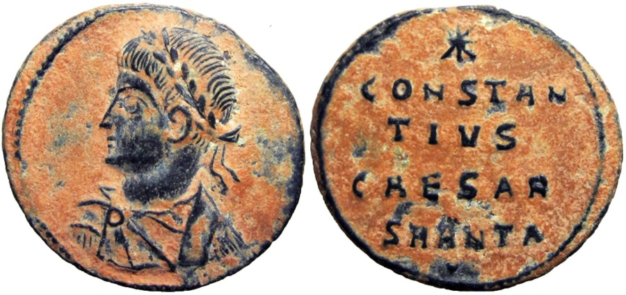 Ancient Coins - CONSTANTIUS II. As Caesar, 324-337 AD. Very Rare !!!