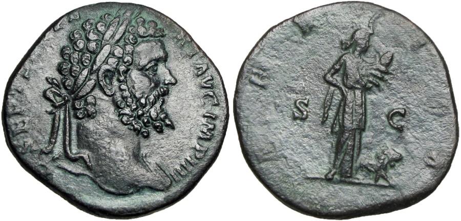 Ancient Coins - SEPTIMIUS SEVERUS. 193-211 AD. Africa reverse.