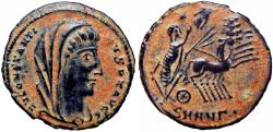 Ancient Coins - Divus Constantine I. Died AD 337. struck on large flan.