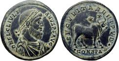 Ancient Coins - Julian II. AD 360-363. well detailed.