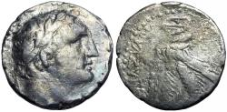 "Ancient Coins - PHOENICIA, Tyre. 126/5 BC-AD 65/6. Rare and popular ""millenium shekel""."