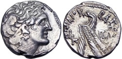 Ancient Coins - PTOLEMAIC KINGS of EGYPT. Ptolemy X Alexander I & Cleopatra Berenike. 101-88 BC.