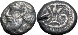 Ancient Coins - PHILISTIA (PALESTINE), Azotos (Ashdod). Mid 5th century-333 BC.