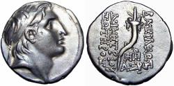 Ancient Coins - SELEUKID EMPIRE. Demetrios I Soter. 162-150 BC. AR Drachm.
