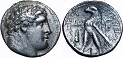 Ancient Coins - PHOENICIA, TYRE. 126/5 BC-65 AD. JUDAS' 30 PIECES OF SILVER.