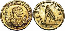 Ancient Coins - Maximian (AD 286-310). AV aureus, Extremely Rare with no examples in Coin Archives.