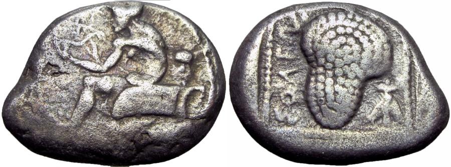 Ancient Coins - CILICIA, Soloi. Circa 440-410 BC. AR Stater .