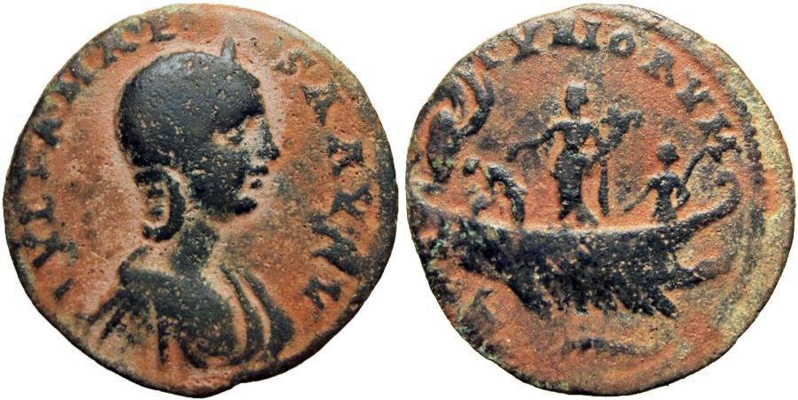 Ancient Coins -  PHOENICIA, Tyre. Julia Maesa. Augusta, AD 218-224/5.
