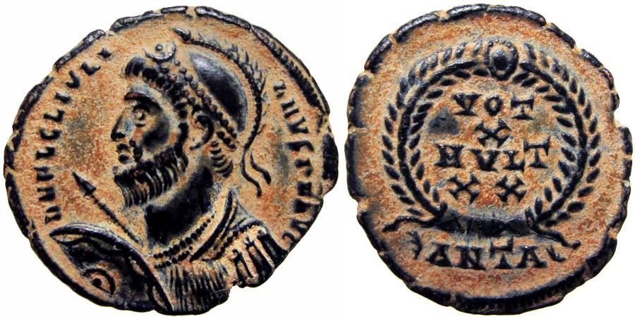 Ancient Coins - Julian II AE3. 361-363 AD.